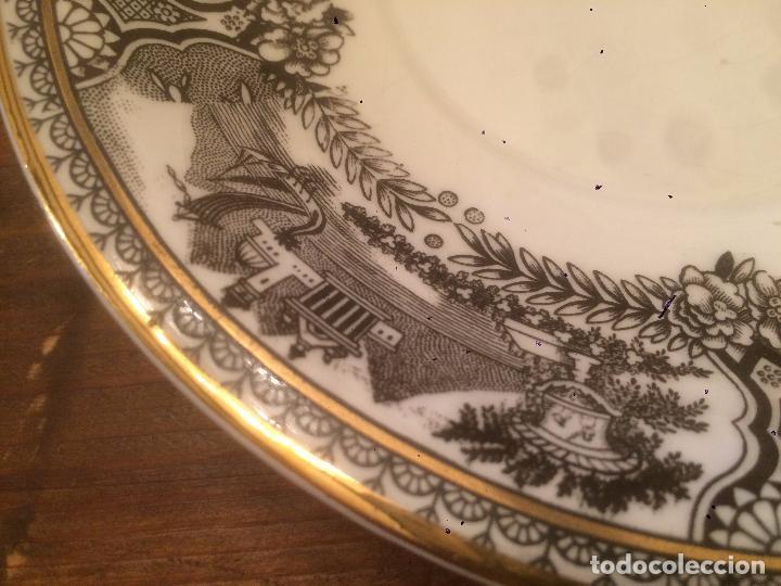 Antigüedades: Antigua taza de ceramica marca San Claudio de los años 30-40 con bonito dibujo - Foto 9 - 87640328