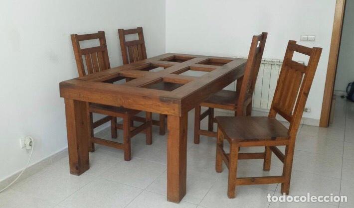 conjunto comedor - Comprar Mesas Antiguas en todocoleccion - 87640399