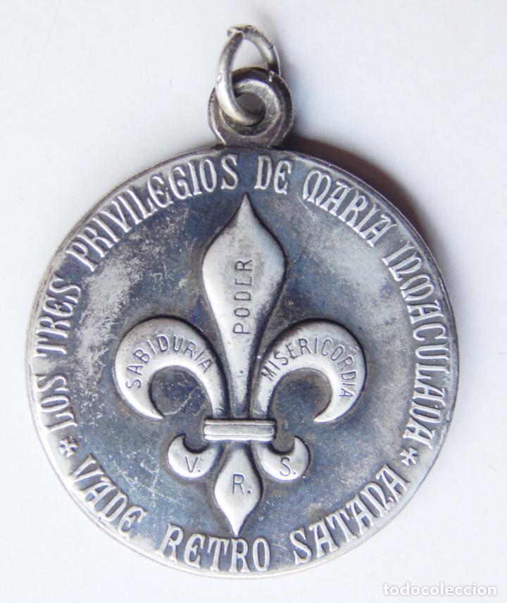 ff7d366a Muy rara medalla amuleto vade retro satana. en - Sold through Direct ...