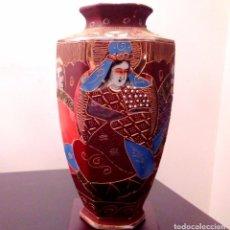 Antigüedades: ANTIGUO JARRON EN PORCELANA JAPONESA DE SATSUMA - 24 CMS.. Lote 87692376