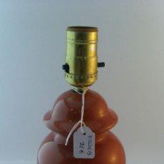 Antigüedades: PIE DE LAMPARA PORCELANA INGLESA. Lote 87716836