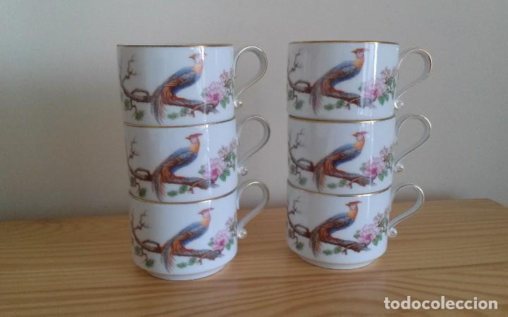 Antigüedades: Tazas porcelana alemana Heinrich - Foto 4 - 145092204