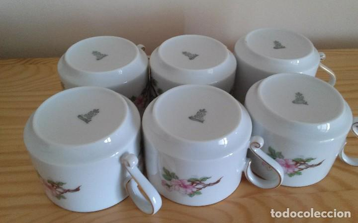 Antigüedades: Tazas porcelana alemana Heinrich - Foto 5 - 145092204