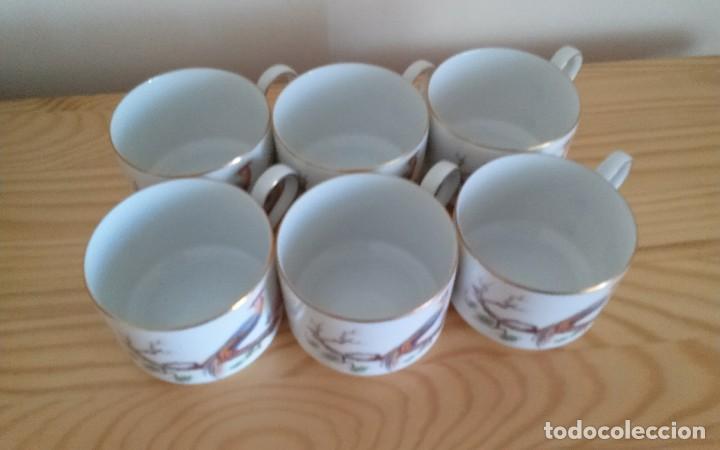 Antigüedades: Tazas porcelana alemana Heinrich - Foto 6 - 145092204