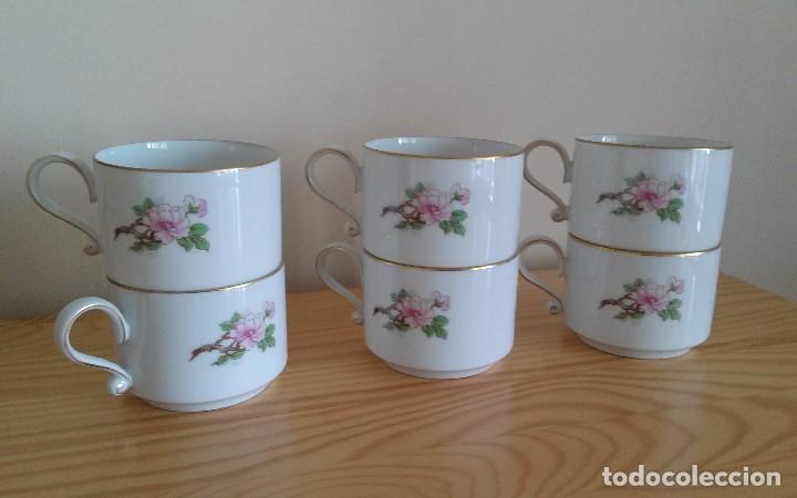 Antigüedades: Tazas porcelana alemana Heinrich - Foto 7 - 145092204