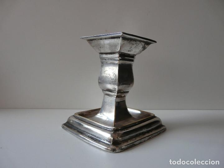 Antigüedades: PORTAVELA INGLESA SHEFFIELD ROYAL FAMILY - Foto 5 - 87827584