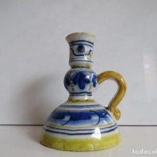 Antigüedades: PORTAVELA CERAMICA TALAVERE DE LA REINA. Lote 87830140