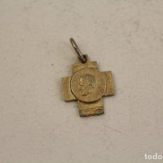Antiquitäten - juan pablo ll, colgante cruz en plata de ley - 95979416