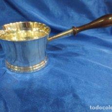 Antigüedades: ANTIGUA CAZOLETA PARA SALSA DE BRANDY JORGE IV AÑO 1810. Lote 87881456