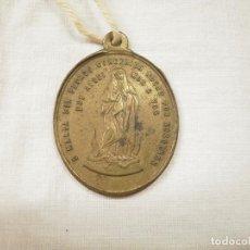 Antigüedades: ANTIGUA MEDALLA DE PIUS IX. Lote 87884580