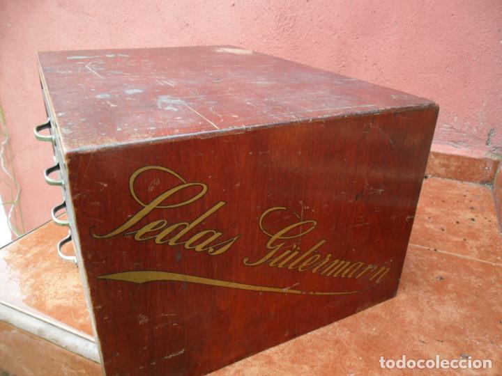 Antigüedades: CAJONERA - ARCHIVADOR - DE MERCERIA - DE LA CASA SEDAS GÜTERMANN - ANTIGUO - Foto 6 - 158580605