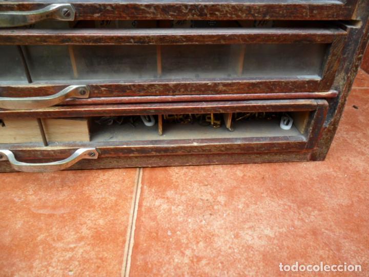 Antigüedades: CAJONERA - ARCHIVADOR - DE MERCERIA - DE LA CASA SEDAS GÜTERMANN - ANTIGUO - Foto 10 - 158580605
