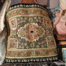 Antigüedades: TAPETE ZARDOZI KASHMIR. Lote 87940336