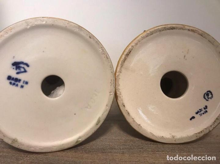 2 Figuras Porcelana Espa Ola Antigua Rm Comprar Botijos