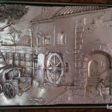 Antigüedades: CUADRO EN PLATA. Lote 88093920