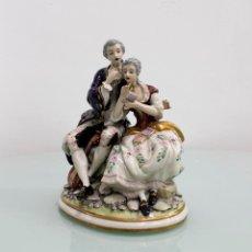 Antigüedades: PORCELANA SHAUTIER COLLECCIÓN - GALOS. Lote 88106176