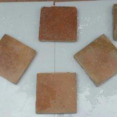 Antigüedades: VIANA DE CARDENAS - URIBE - LOTE DE 16 BALDOSAS - SELLADAS - S.XIX. Lote 88107592