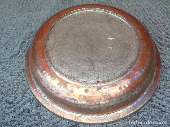 Antigüedades: ANTIGUA FUENTE DE COBRE - Foto 3 - 88116944