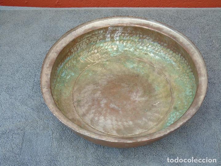 Antigüedades: ANTIGUA FUENTE DE COBRE - Foto 4 - 88116944
