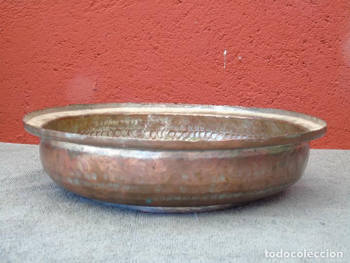 Antigüedades: ANTIGUA FUENTE DE COBRE - Foto 5 - 88116944
