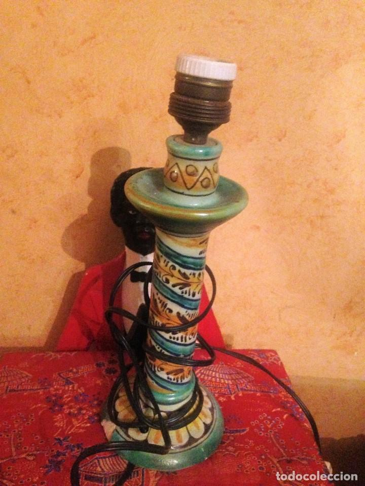 ANTIGUA LAMPARA DE TRIANA. (Antigüedades - Porcelanas y Cerámicas - Triana)