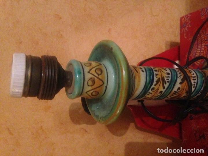 Antigüedades: ANTIGUA LAMPARA DE TRIANA. - Foto 2 - 88138376