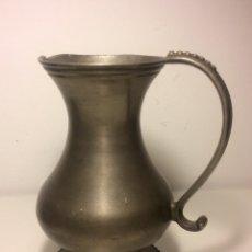 Antigüedades: JARRA DE ESTAÑO DE PRINCIPIOS DEL SIGLO XX. Lote 88142334