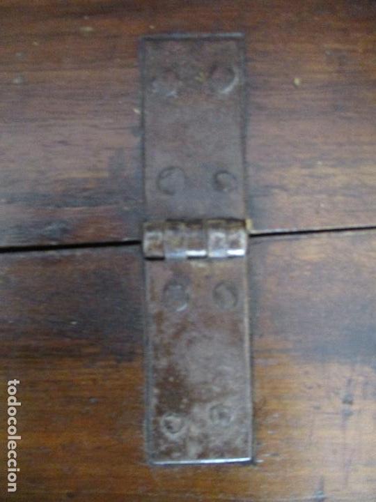 Antigüedades: Antiguo Canterano - Escritorio - Catalán - Carlos IV - Madera de Nogal - Finales S. XVIII - Foto 21 - 88290648