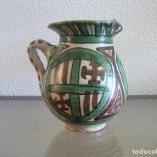 Antigüedades: JARRILLA CERÁMICA DOMINGO PUNTER E HIJOS TERUEL. REF. 663. Lote 88323372