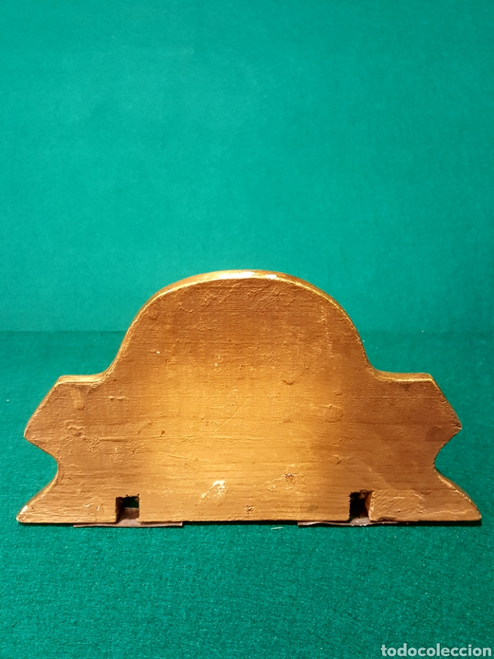 Antigüedades: Ménsula de madera tallada y dorada en oro fino. - Foto 3 - 88344048