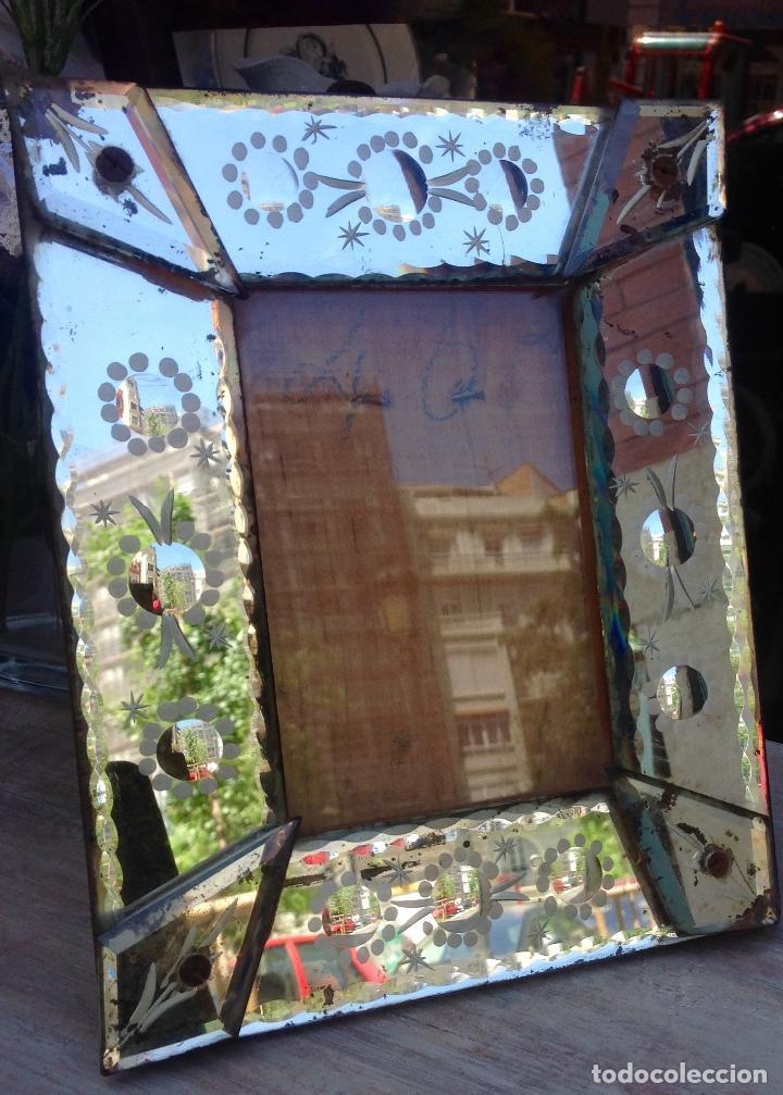 antiguo marco de sobremesa veneciano , original - Comprar Marcos ...