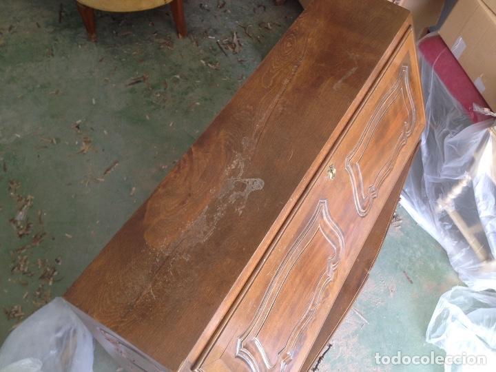 Antigüedades: Antiguo escritorio, canterano, Buró. Madera de Haya - Foto 2 - 88357420