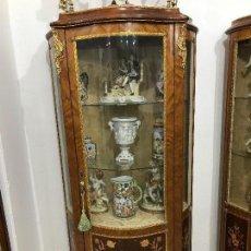 Antigüedades: PAREJA DE VITRINAS ROYAL. Lote 87873504