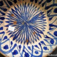 Antigüedades: CERÁMICA ANTIGUA DE FAJALAUZA.. Lote 88667172