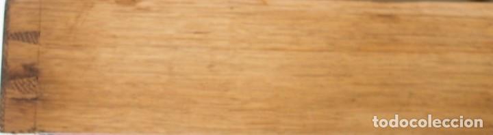 Antigüedades: Enorme Escribanía inglesa época Georgiana. Madera de roble. Circa 1810 - Foto 6 - 88741020