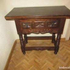 Antigüedades: MESA TOCINERA. Lote 88768732