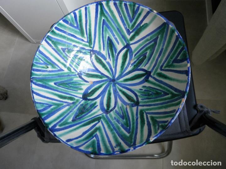 Antigüedades: Cuenco de cerámica de Fajalauza. - Foto 2 - 88803984