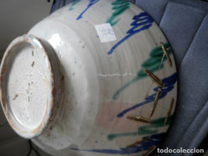 Antigüedades: Cuenco de cerámica de Fajalauza. - Foto 4 - 88803984