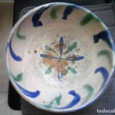 Antigüedades: CUENCO DE CERÁMICA DE FAJALAUZA.. Lote 88806324