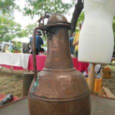Antigüedades: LECHERA ANTIGUA TURCA DE COBRE. Lote 88830086