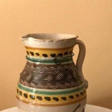 Antigüedades: ANTIGUA JARRA CERÁMICA DE PUENTE DEL ARZOBISPO (TOLEDO). S.XIX. Lote 88857712