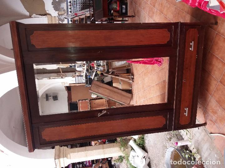 Antigüedades: armario antiguo - Foto 3 - 88873620