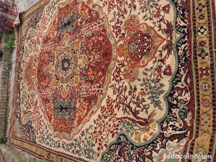 Antigüedades: alfombra muy grande - Foto 2 - 88873712