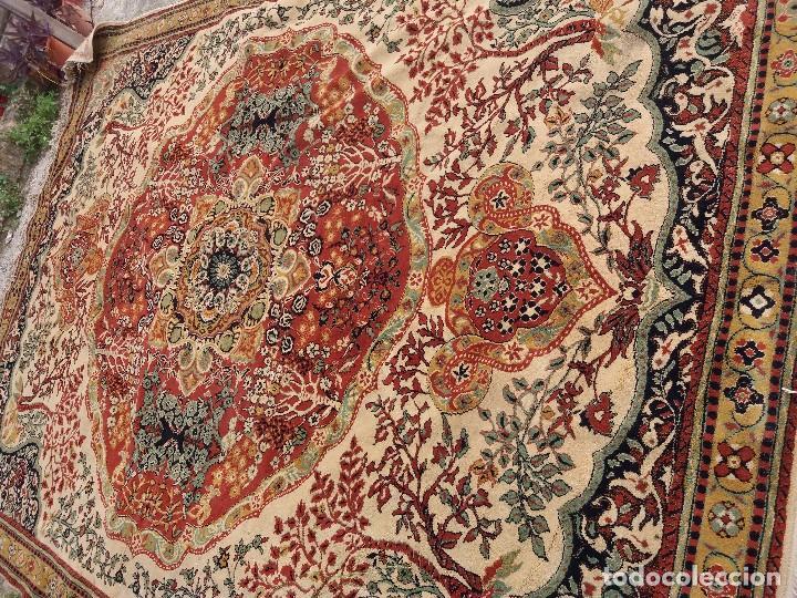 Antigüedades: alfombra muy grande - Foto 3 - 88873712