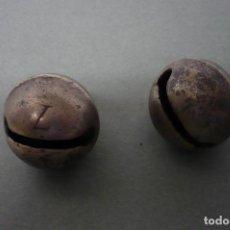 Antigüedades: PAREJA CASCABELES Nº 7. Lote 87490428