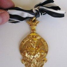 Antigüedades: ANTIGUA MEDALLA BROCHE RELIGIOSA, ASOCIACION SAN VICENTE FERRER, ALTAR DEL MERCAT. Lote 88887184