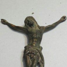 Antigüedades: CRISTO ANTIGUO EN CRUZ DE HIERRO . Lote 88907400