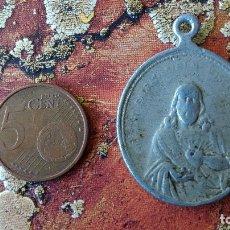 Antigüedades: ANTIGUA MEDALLA RELIGIOSA DOLOROSA. Lote 131988253
