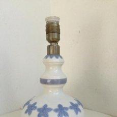 Antigüedades: LAMPARA DE PORCELANA CERAMICA DE LLADRÓ AÑOS 70 CREADA POR JULIO FERNANDEZ CON NOMBRE MINUE FLORELIA. Lote 88919296