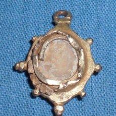 Antigüedades: ANTIGUO RELICARIO ÉPOCA REYES CATOLICOS PLATA SOBREDORADA SIGLO XV. Lote 88929220